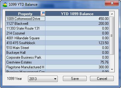 YTD Balances Tool