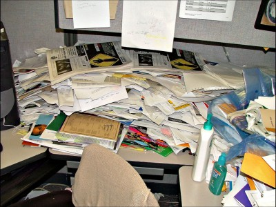 worlds messiest office cubicle discovered in colorado