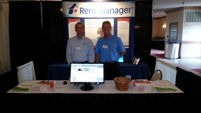 Dave and Dave at a Trade Show