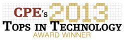CPE 2013 Tech Award Winner
