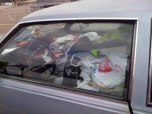 Hoarder Car