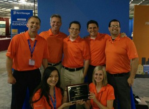 LCS Employees with NARPM Trophy