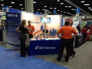 Rent Manager Trade Show Booth