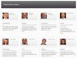 RMUC.2014 Speakers