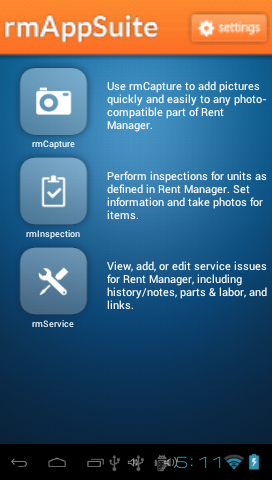 rmAppSuite for Android