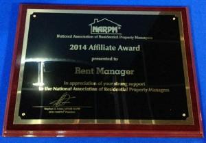 2014 Affiliate Award