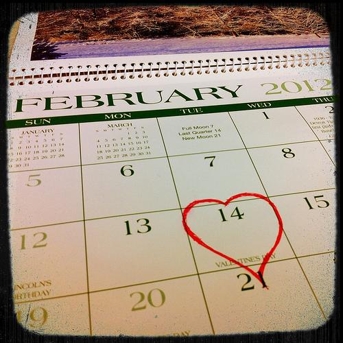 Valentine's Day - Calendar