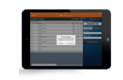 Rent Manager Feature - rmPayment Screen