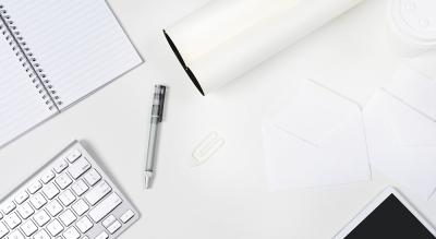 White work desk