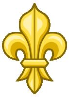 fleur-de-lys-or