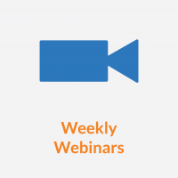 Weekly Webinars