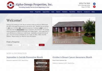 Alpha Omega Properties