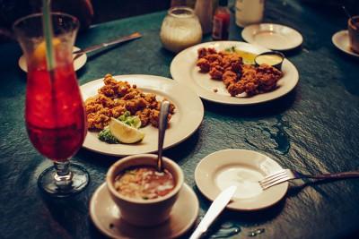 Dinner in New Orleans