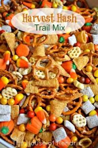 september festive trail mix