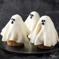 september festive ghost cupcakes
