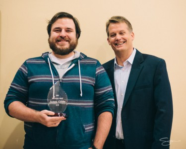 LCS Holiday Party Employee Award Winner - James