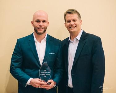 LCS Holiday Party Employee Award Winner - Jeremy