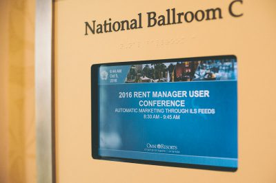 Rent Manager User Conference 2016 - Day 3, Classes