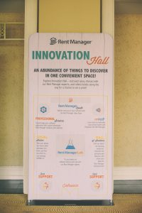 Rent Manager User Conference 2016 - Innovation Hall