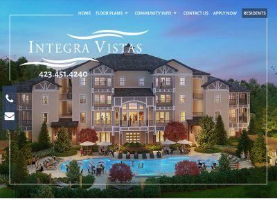 Integra Vistas Website Example