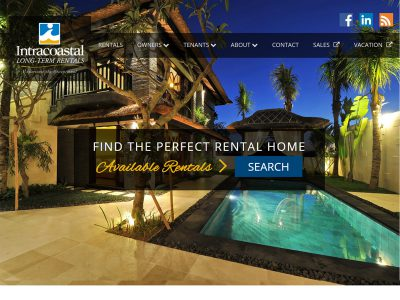 Intracoastal Website Example