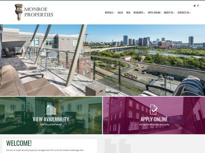 Monroe Properties Website Example