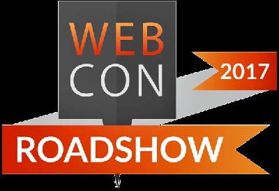 WEBCON Roadshow 2017