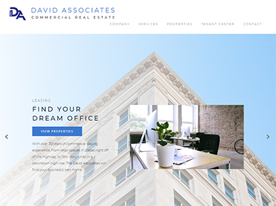 David Associates Website Example