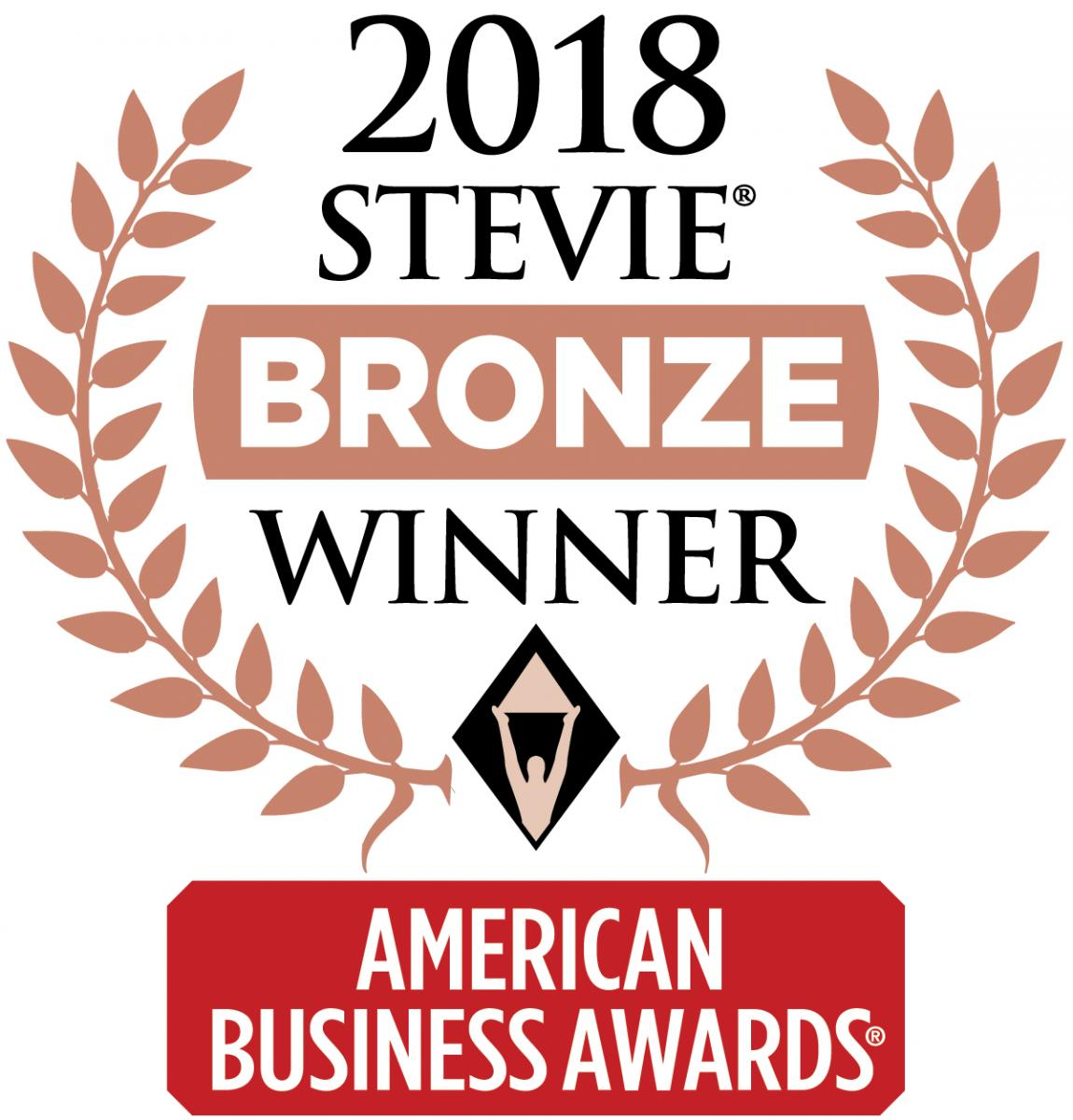 American Business Awards Stevie Bronze Winner
