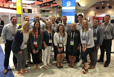 Apartmentalize trade show team