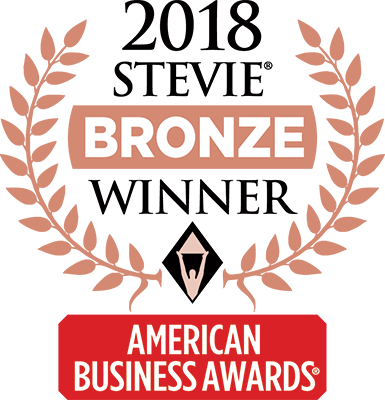 Bronze Stevie Award for Customer Service Department of the Year logo