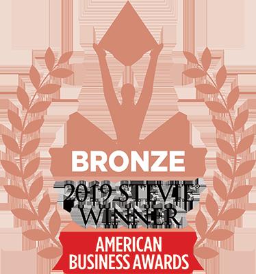 Bronze Stevie Winner for Live Event logo