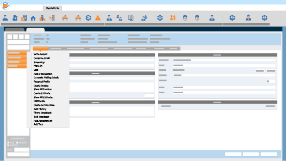 RM Business Operations Screenshot