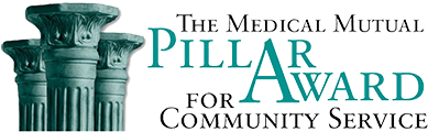 Medical Mutual Pillar Award for Community Service logo